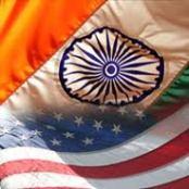 Indo US Flag