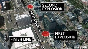 explosion sites